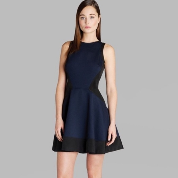 Ted Baker Dresses & Skirts - Ted Baker Hearn Dress - Navy Blue and Black